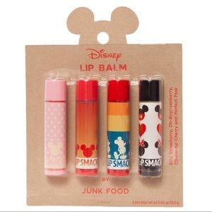NWT Disney Lip all set of four